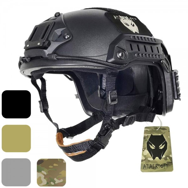 ATAIRSOFT Adjustable Maritime Helmet ABS for Airsoft Paintball (2 Sizes)