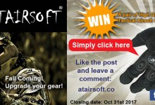 ATAirsoft Airsoft Gloves Prize Draw